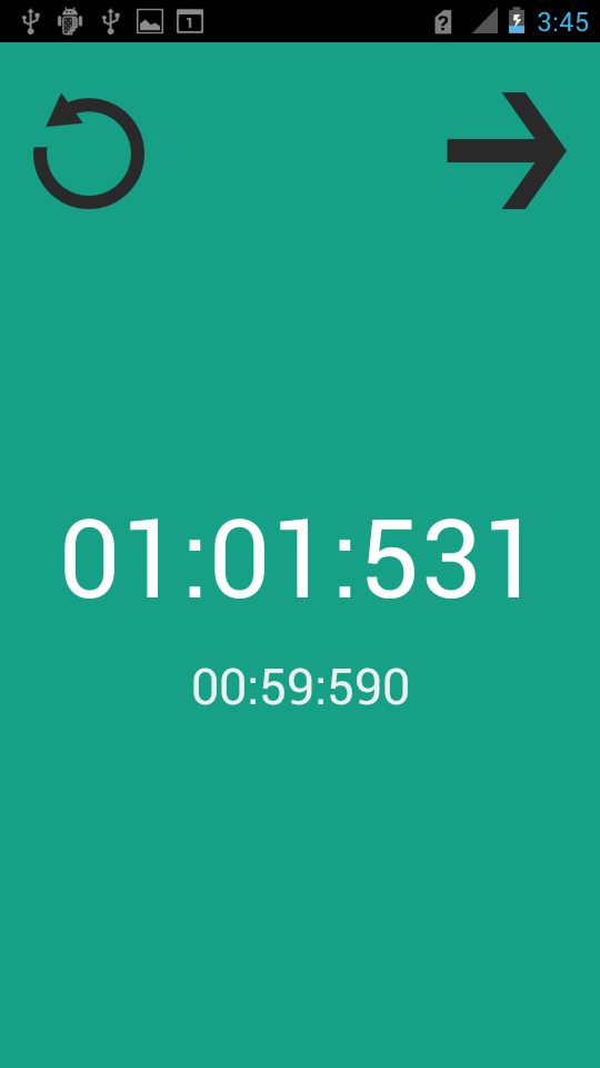 Timer screenshot