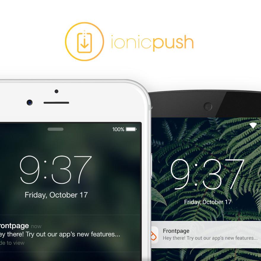 An Introduction to Ionic 1 x Push | joshmorony - Learn Ionic & Build