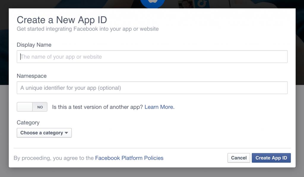 Facebook New App