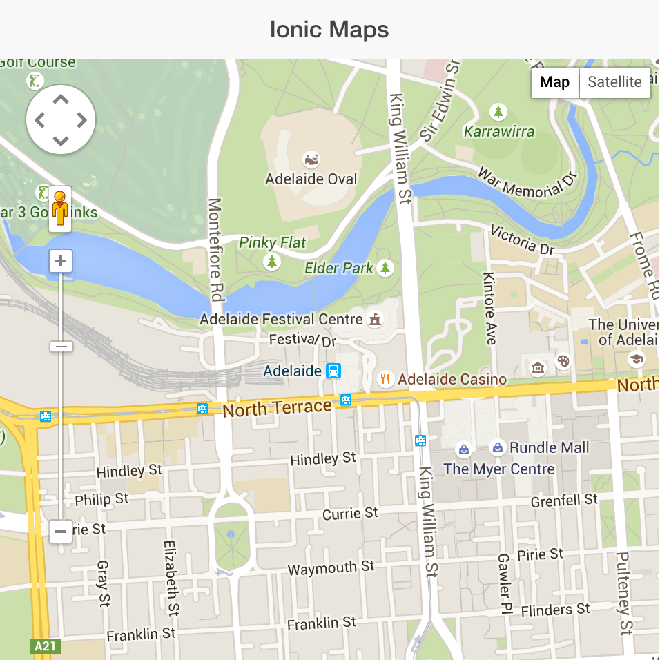 Maps Google: Part 1: Integrating Google Maps With An Ionic 1.x