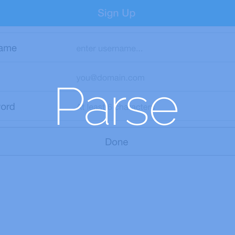 User Authentication with Ionic 1.x and Parse, Part 2: Facebook Login