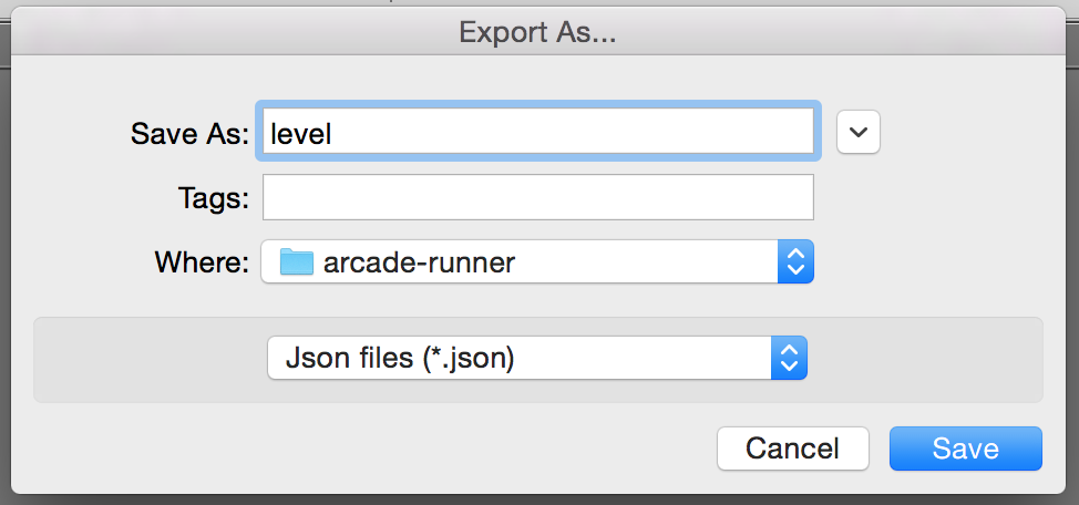 Export Tiled