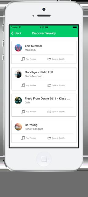 Spotify Ionic App