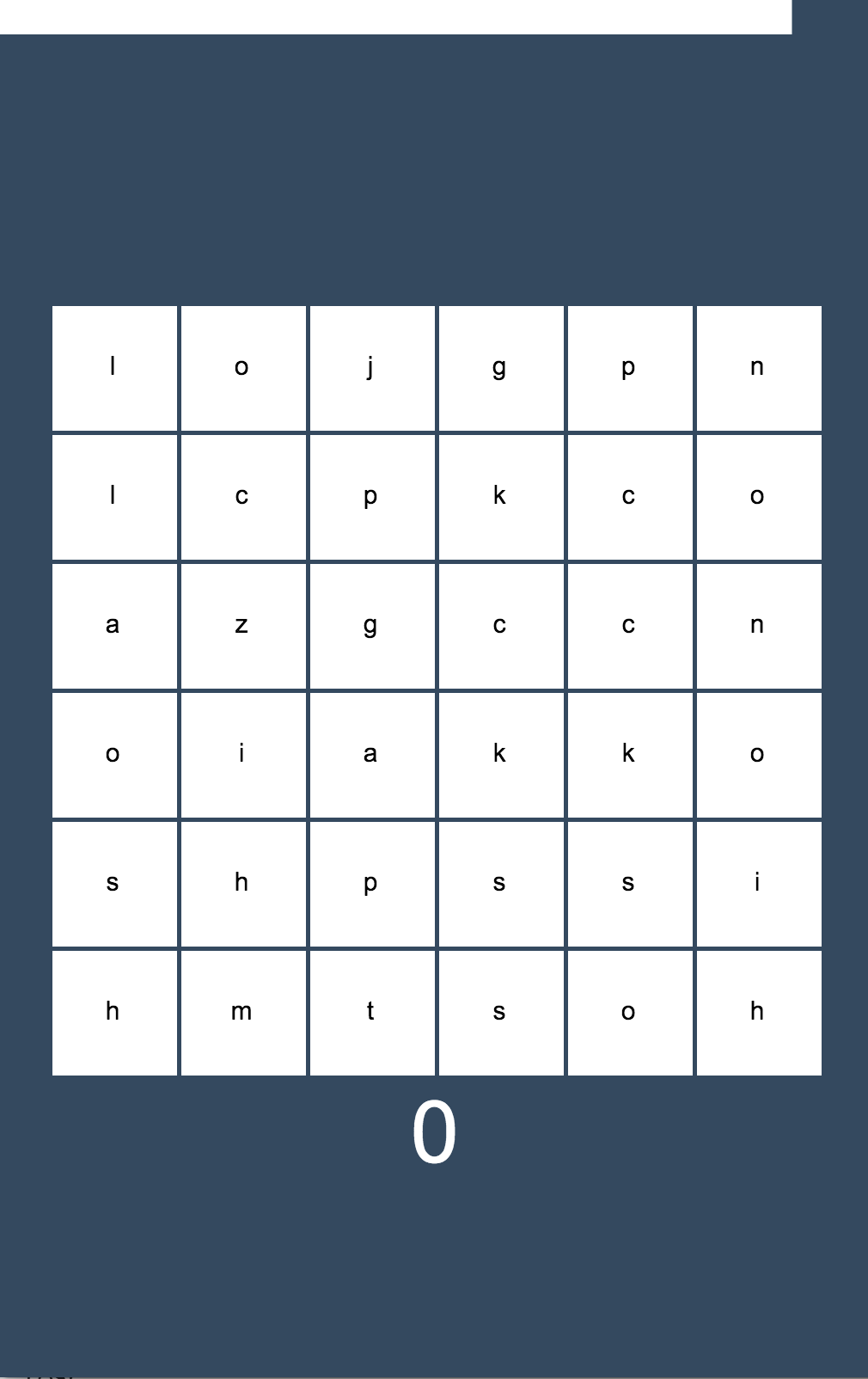 Part 1: Building a Word Search Game in HTML5 with Phaser