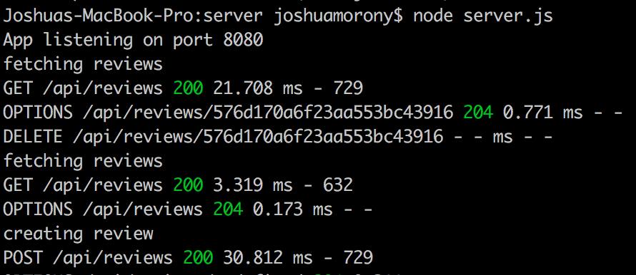 Node Server