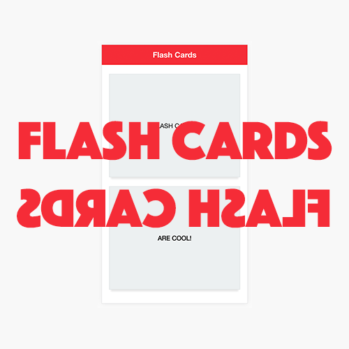 Build a Custom Flash Card Component in Ionic 2 – Part 2