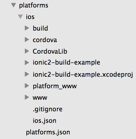 iOS Build Files