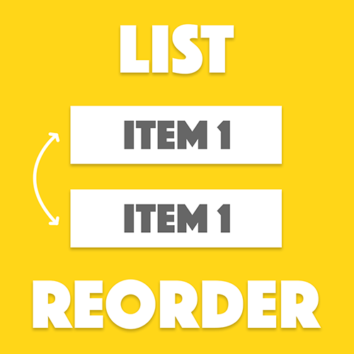 Reordering a List in Ionic 2