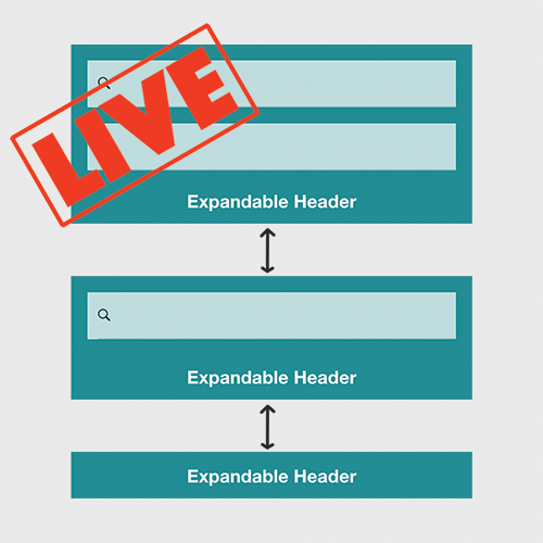"""Live"" Coding an Expandable Header Component in Ionic 2 – Part 1"
