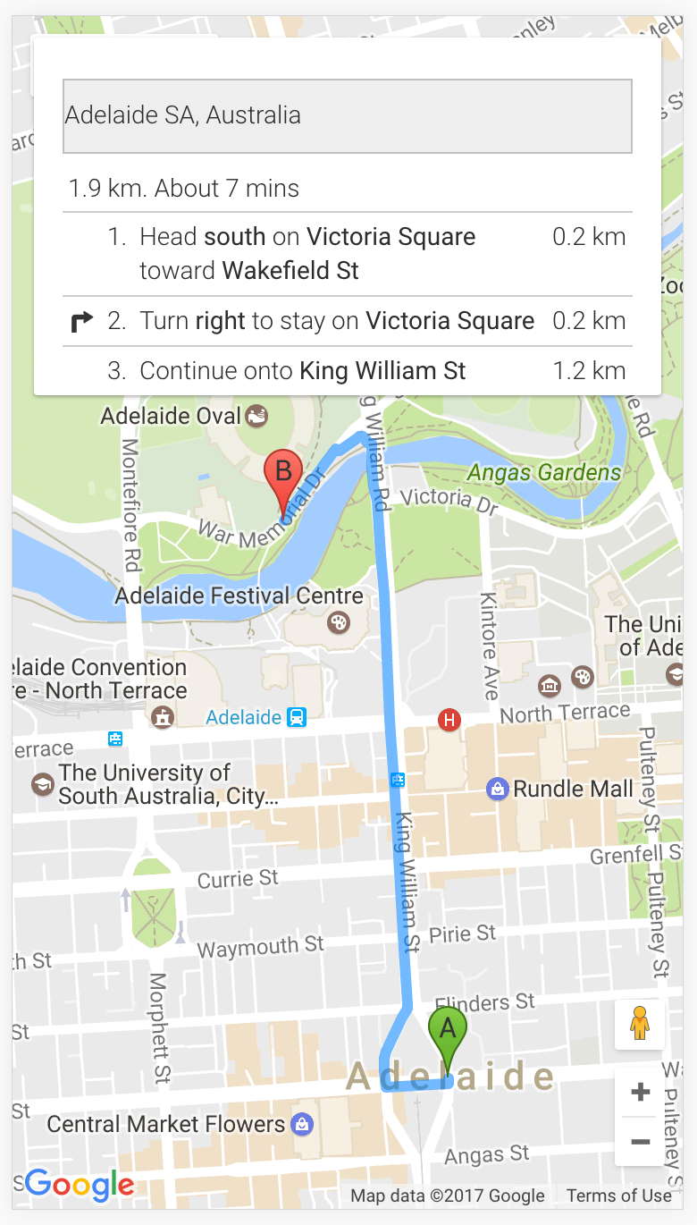 Implementing Turn by Turn Navigation with Google Maps in Ionic ... on