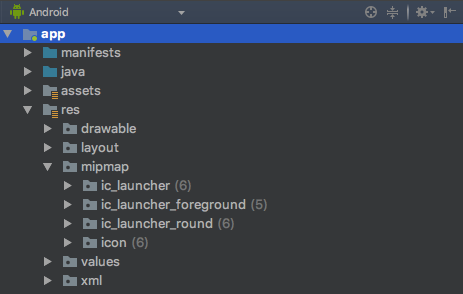 Android Studio Resources Folder