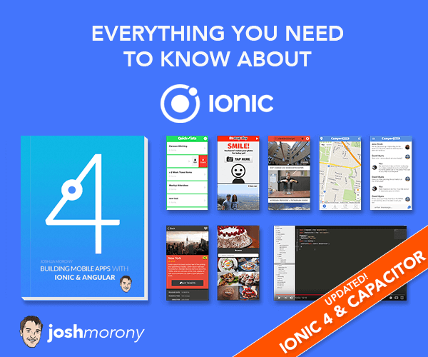 Building Mobile Apps with Ionic