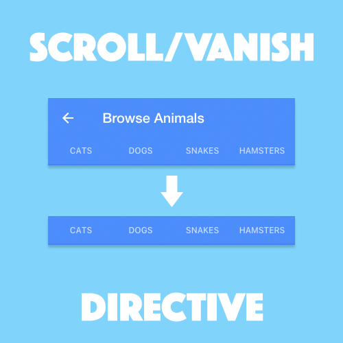 Creating a Custom Scroll Vanish Directive with Ionic Web Components