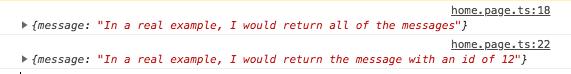 Response from NestJS Server