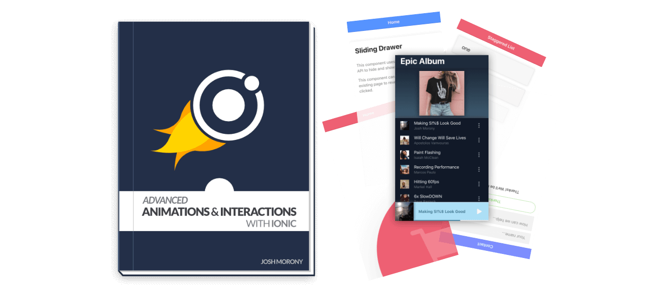 Advanced Animations & Interactions with Ionic - Essential Edition