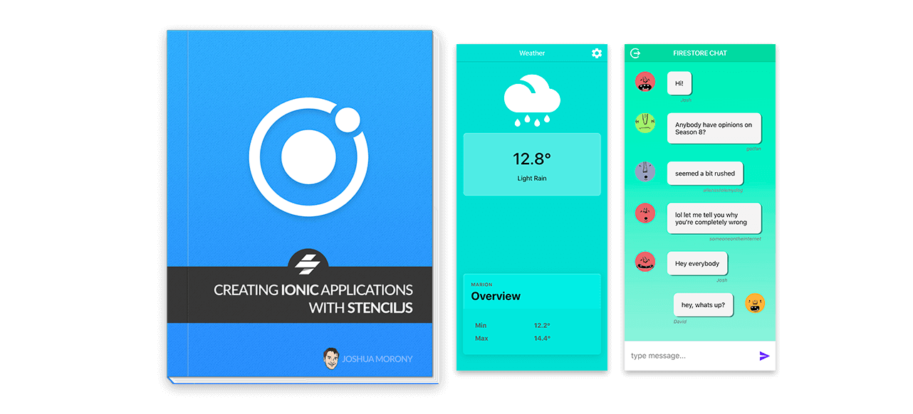 Creating Ionic Applications with StencilJS - Premium